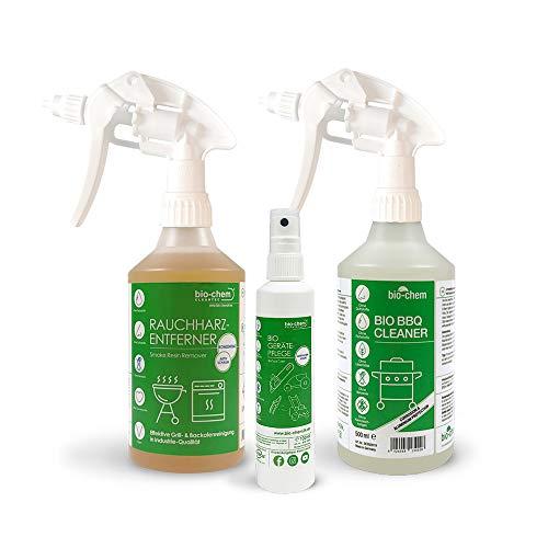 Bio-Chem 3er-Grill & Backofen Reinigungs- und Pflege-Set für Smoker, Öfen, Schaschlikgrill