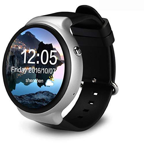 LIUQIAN Inteligente Pulsera 2G + 16G Ligero Pantalla Redonda Completa 3G Tarjeta Sueño WiFi Ritmo Cardíaco Pago GPS Posicionamiento