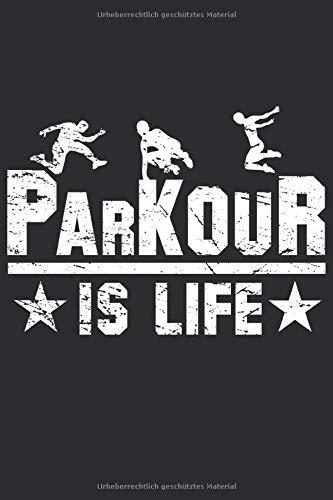 Parkour Notizbuch: Perfektes Geschenk für Parkour Läufer
