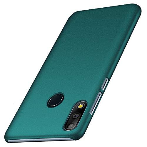 Anccer Cover Asus Zenfone Max Pro (M2) ZB631KL, [Alta Qualità] [Ultra Slim] Anti-Scratch Hard PC Case Custodia per Zenfone Max Pro (M2) ZB631KL (Ghiaia Verde)