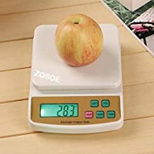 ZOSOE Electronic Digital Kitchen Scale, Kitchen Scale Digital Multipurpose, Weight Machines for Kitchen, Weight Machine, Weight Scale Kitchen, Kitchen Weight Machine Digital(10 Kg)