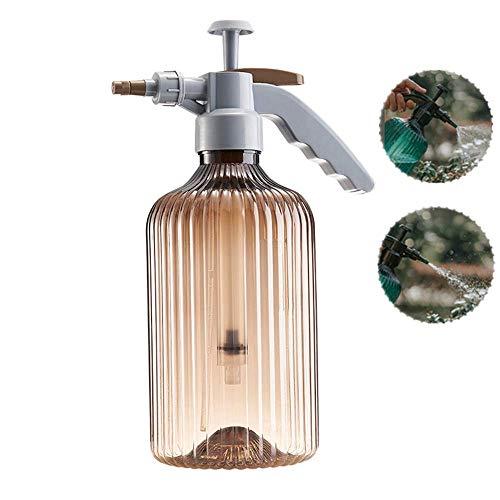 Pomp-actie Spray Bottle drukspuit, Premium Plastic Made, geschikt voor Home Garden Office Car Cleaning, Groen/Bruin,Brown