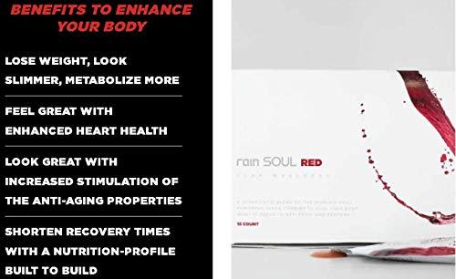 1 scatola di RAIN Soul RED (30 sacchetti) integratore supporto sano funzione del cuore, lotta l'infiammazione, aumenta l'immunità