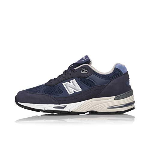 New Balance M991 Made In England Navy Ledertrainer