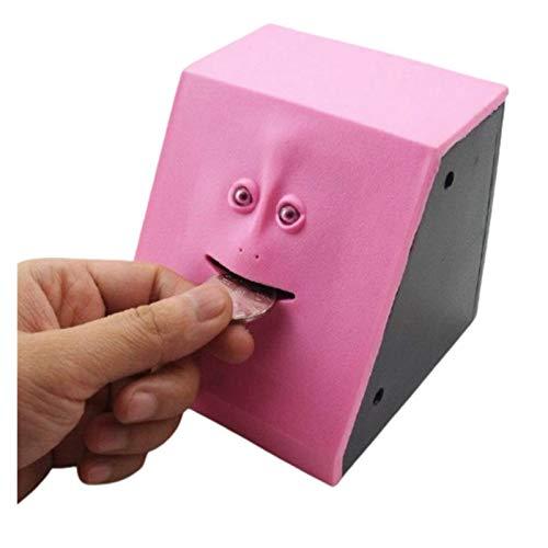 UALLL Juguete de Pikachu, Caja de Efectivo electrónico, Bandeja de plástico, Cara...