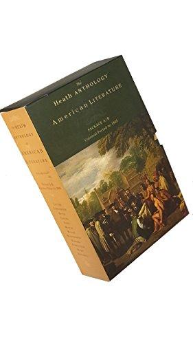 Heath Anthology of American Literature: v. A & B