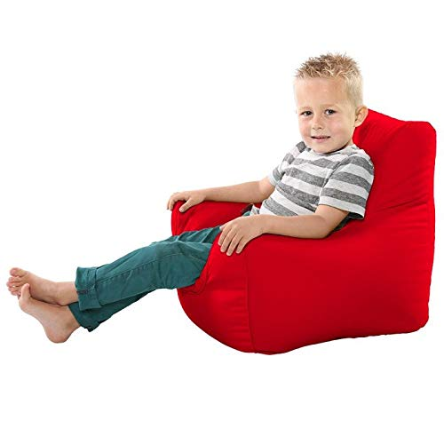NEW R U Comfy Toddler Armchair Beanbag - Red