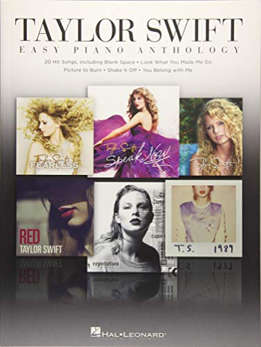 Taylor Swift: Easy Guitar Anthology (Piano Book)