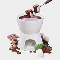WCD キャンドルなしの家庭料理セラミックチョコレートチーズフォンデュセット