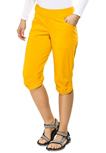 Haglöfs Amfibiell II Long Shorts Women Saffron 34
