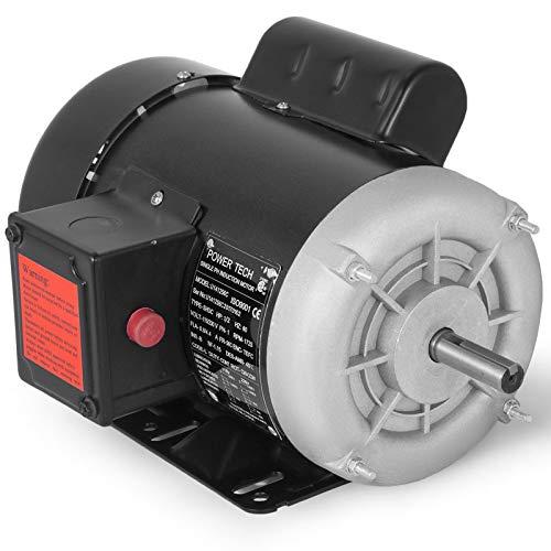 Mophorn Air Compressor Motor, 3/4 HP Single Phase Electric AC Motor 1725rpm Reversible 115V 230V 56C Frame Electric Motor for Air Compressor General Equipment