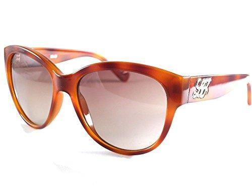 Valentino Damen LJ607SR 218 55 Sonnenbrille, Gold (Blonde Havana)
