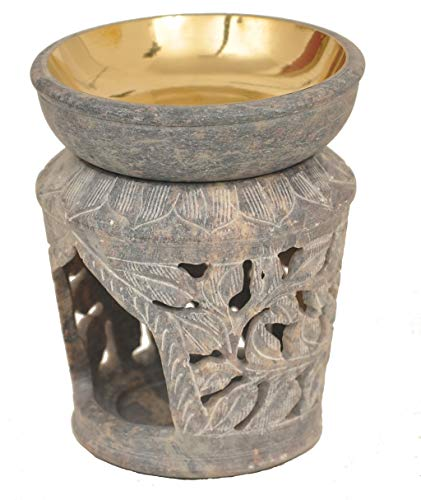 Alterras - Duftlampe: Blumensäule (H: 11cm, Ø: 9cm)
