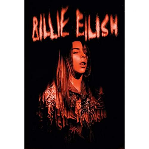Eilish, Billie Sparks Unisex Póster Multicolor, Papel, 61 x 91,5 cm