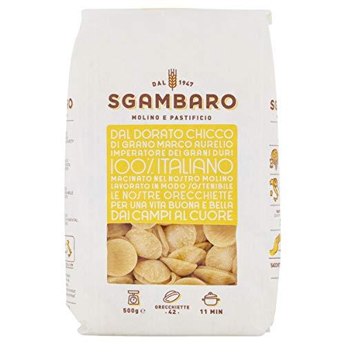 Pasta Sgambaro - Orecchiette N. 42 - 100% grano duro italiano - 500 gr