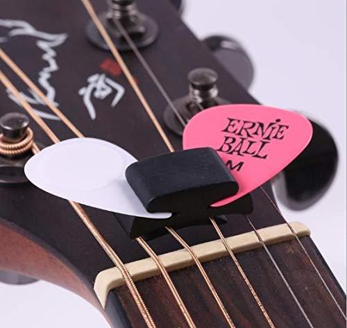 m-stone ギター ピック ホルダー アコギ エレキ ピックホルダー はさみ なくさない 収納 (3個セット)