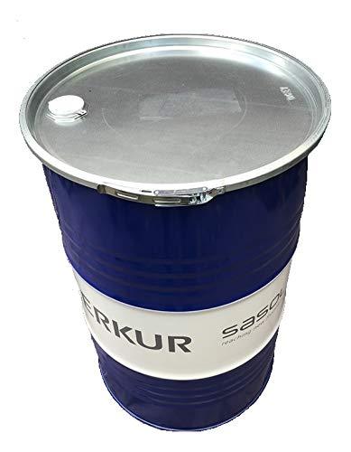 200 Liter Metallfass mit Deckel Stahlfass Ölfass Feuertonne Behälter Tonne Blechfass Stehtisch