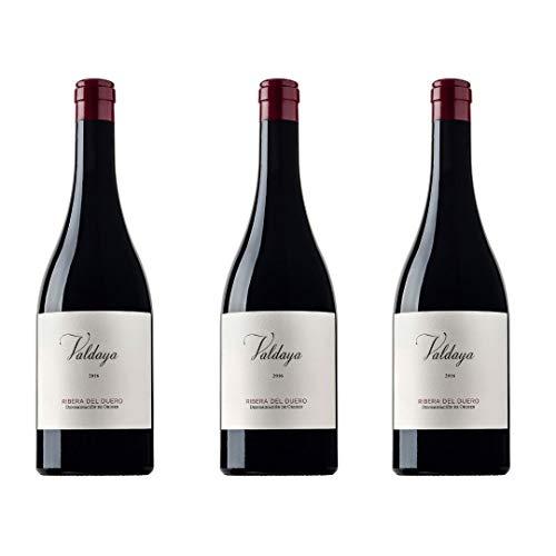 Valdaya Vino Tinto - 3 botellas x 750ml - total: 2250 ml