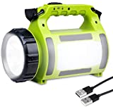 Voroly Plastic LED Emergency Torch Light, Green, Pack of 1 flashlight 10000 lumens Dec, 2020