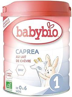 Babybio - Lait Infantile - Caprea 1er Âge - 800g - Au lait de chèvre - de 0 à 6 Mois - BIO - Fabriqué en France - Sans Hui...
