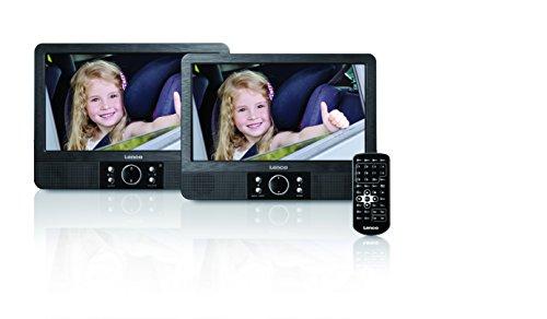 lenco 2 bildschirme 9 dvd player f rs auto autolifestyle. Black Bedroom Furniture Sets. Home Design Ideas