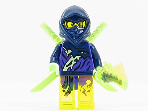 LEGO Ninjago Hackler Ghost Ninja Warrior Minifigure NEW 2015 70734 by Pingan84