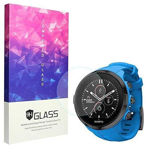 Ceston Protector de pantalla de cristal templado para smartwatch deportivo Suunto Spartan Sport HR, dureza 9H