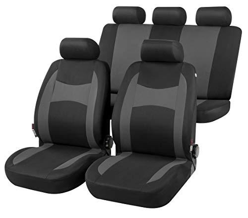 rmg-distribuzione Coprisedili per QUBO Versione (2007 - in Poi) compatibili con sedili con airbag, bracciolo Laterale, sedili Posteriori sdoppiabili R01S0177