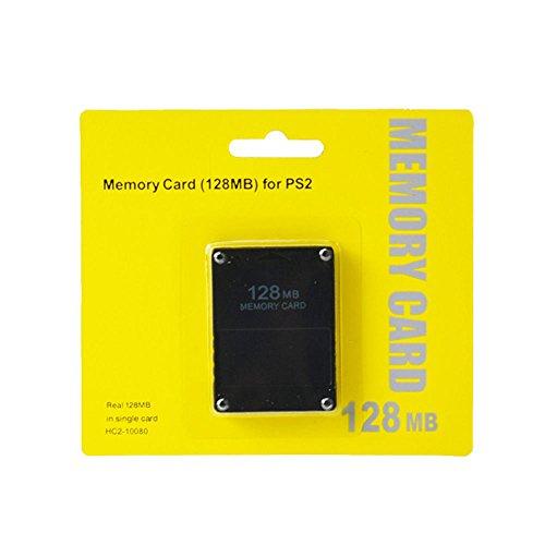CHILDMORY Nero 128MB Modulo di scheda di memoria per Sony PlayStation 2 PS2
