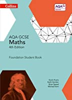 Collins GCSE Maths ? AQA GCSE Maths Foundation Student Book by Kevin Evans Keith Gordon Michael Kent Brian Speed(2015-06-01)