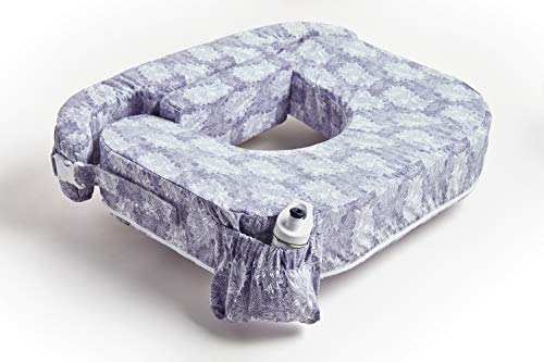 Zenoff Products My Brest Friend Twin Nursing Pillow, Flowers (696)
