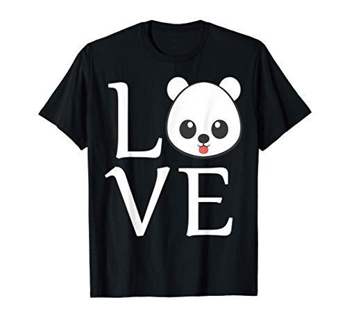 Amor Oso Panda Lindo Oso Panda Regalo Clásico Camiseta