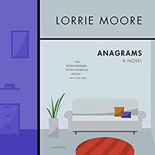 Anagrams audiobook cover art