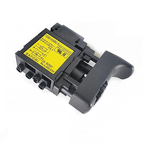 SDUIXCV Disparador de Interruptor Original para Hitachi 322854 DV20VB2 DV18V D13VH D13VB3 D10VJ C2098493 repuestos de Taladro de Martillo