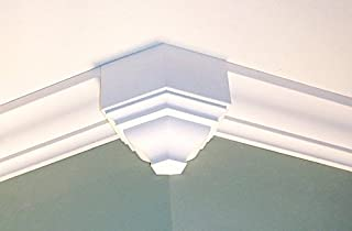 Crown Molding Corner 225 Degree Outside Block Fits 3 - 3 5/8 Inch Crown Molding