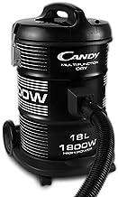 CANDY Vacuum Cleane,15L,1800W, 18L Drum capacity,cloth bag, Black -TDC1800 001
