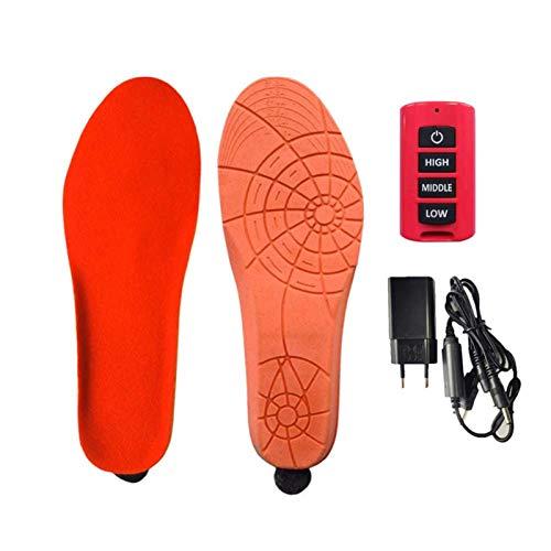 cypressen Verwarmbare inlegzolen, verwarmbare thermozool, voetwarmer, direct verwarmingszool met afstandsbediening, voor mannen en vrouwen, jong en oud, verschillende maten