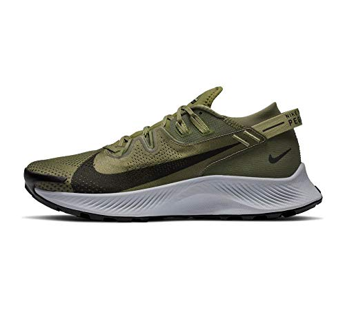 Nike Pegasus Trail 2, Scarpe da Corsa Man, Med Olive/Black-Med Khaki-Wolf Grey, 49.5
