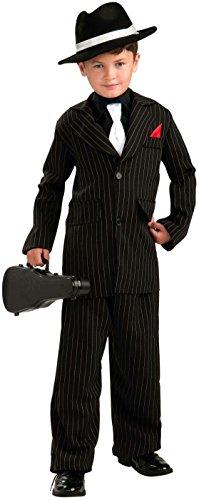 Forum Novelties Littlest Gangster Child Costume, Small