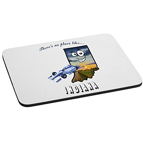There's No Place Like Indiana Mouse Pad