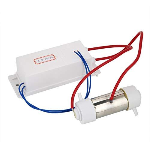 Kuuleyn Ionizador ozonizador, generador de ozono ionizador ozonizador purificador de Agua y Aire máquina de esterilización de Frutas Vegetales(1g)