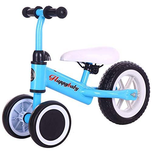 Hejok VéLo Tricycle BéBé, Enfants Trikes Filles 1-3 Enfants en Bas âGe Les Enfants Montent sur Le Tricycle à PéDales VéLo Smart Nouveau Design BéBé Tricycle, Blue