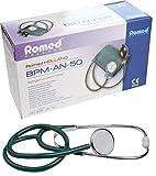 Blutdruckmessgerät Romed Aneroid + Stethoskop (Messgerät + Stethoskop grün)