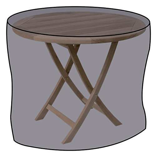 LINDER EXCLUSIV Lex Housse de Protection pour Tables de Jardin Ø 125 x 83 cm, Sac de Transport