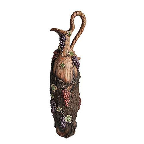 XYZMDJ hars vaas, hoge kwaliteit hars vloer grote decoratie, woonkamer bloem arrangement tv-kast