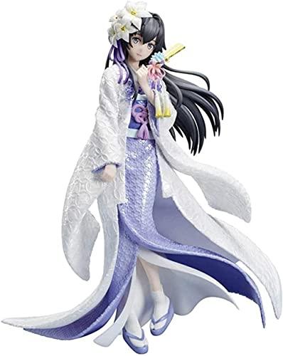 Yukinoshita yukino deded Figur stehende Haltung 24 cm / 9 4 Zoll PVC Material arbeitete Exquisite Gesichtsmäntel Faire und transparente Haut süße Anime