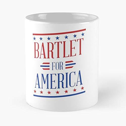 Bartlet For America - Bestes 11 Unze-Keramik-Kaffeetasse Geschenk