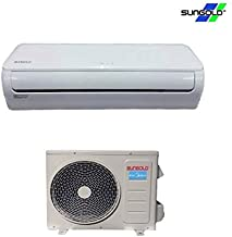 SUNGOLD 17 SEER 9,000BTU Cooling Ductless Mini Split Inverter Air Conditioner with Heat Pump, 115V