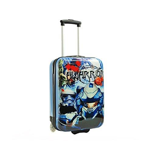 Snowball-Valigia bambini, colore: blu bambino