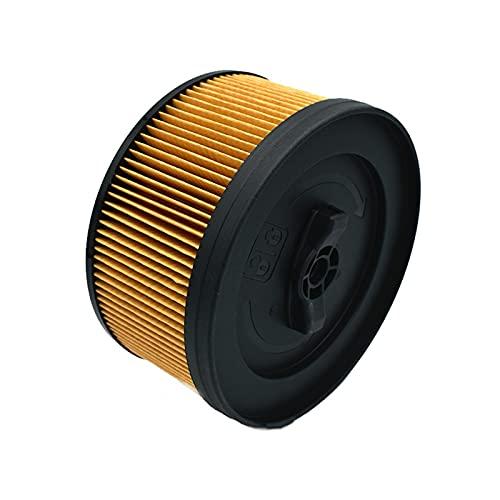 ZRNG Amplificador Mojado;Filtro de Cartucho seco Ajuste para Karcher 6.414-960 WD4.000~4.999 WD5.000~5.999 Piezas de aspiradora Filtros HEPA La instalación es Simple y fácil de Usar.